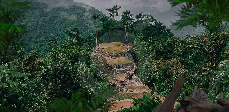 Terrazas Arqueológicas Ciudad Perdida Tour Expotur Santa Marta Colombia