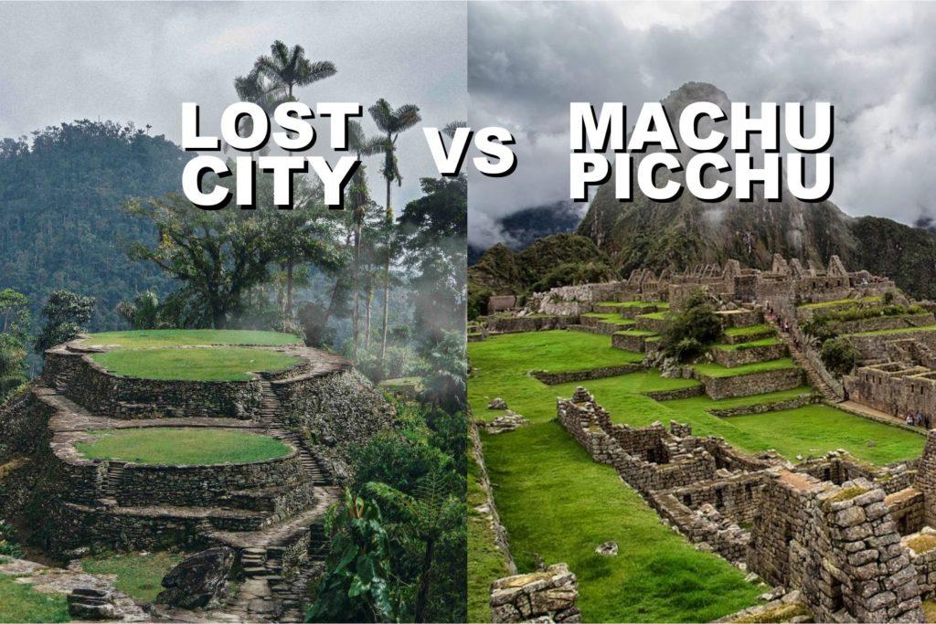 lost city y machu picchu