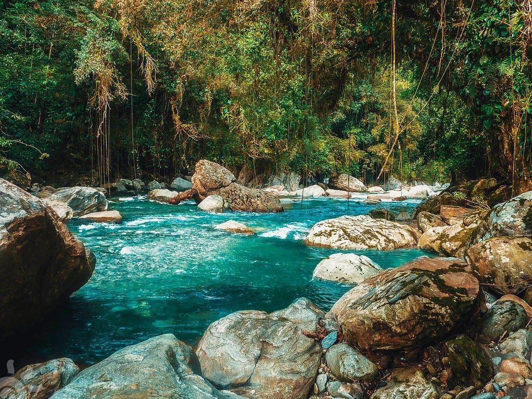 Rio Buritaca en Ciudad Perdida