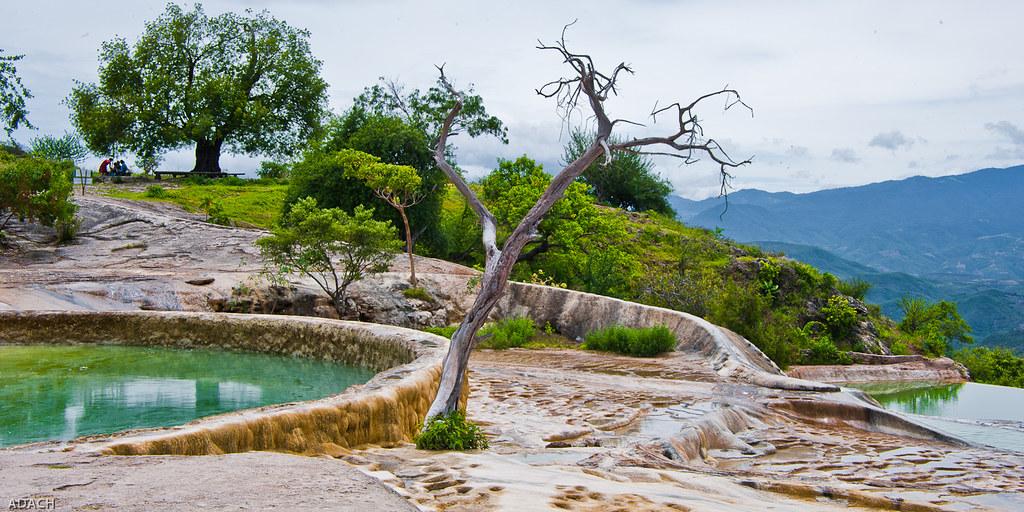destinos en México, hierve el agua oaxaca