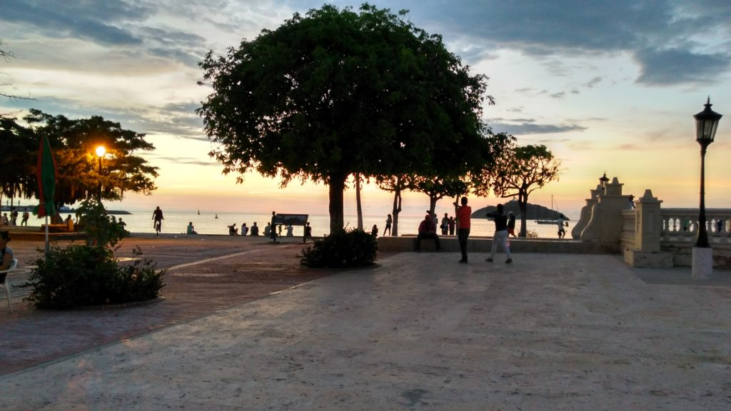 Bahía de Santa Marta. playas en santa marta