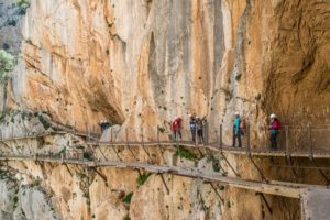 Caminito del Rey, España. mejores trekking del mundo
