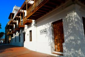 Museo del Oro Tairona. foto Alcaldía. Museos en Santa Marta. Museums in Santa Marta