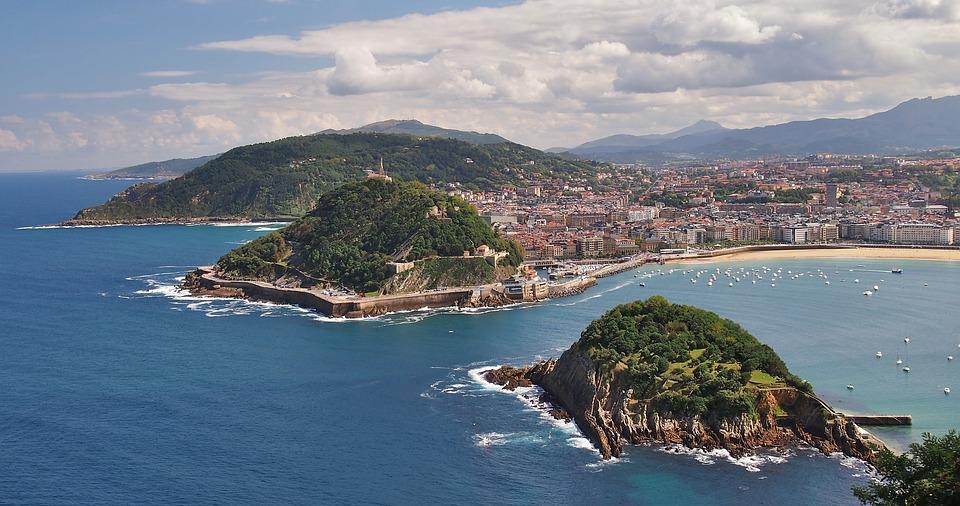 Playa de La Concha – San Sebastián, España. Las mejores playas del mundo