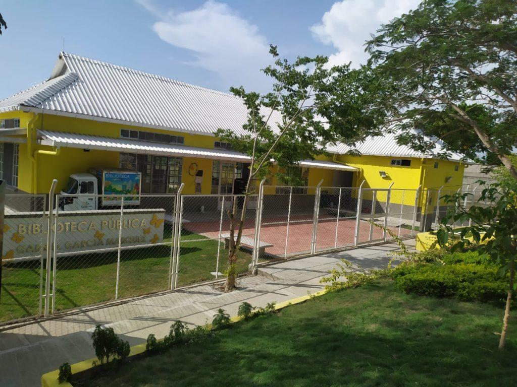 Biblioteca Pública Gabriel García Márquez en Aracataca