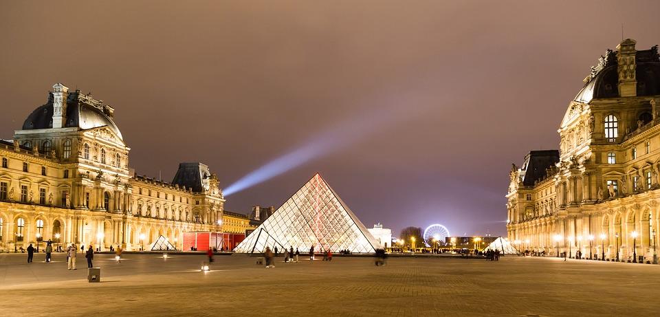Museo de Louvre. museos del mundo