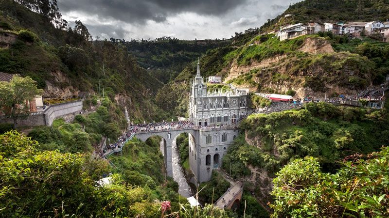 Santuario de las Lajas | Ipiales | Nariño | ColombiaExpotur | El ...