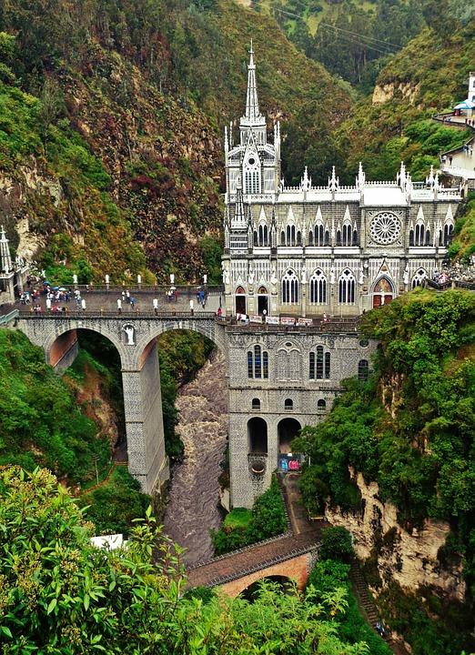 santuario de las lajas ipiales nariño colombia