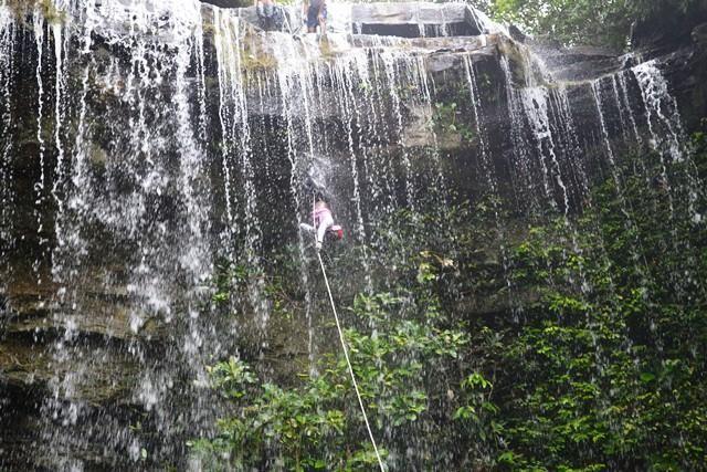 cascada del arcoiris guaviare
