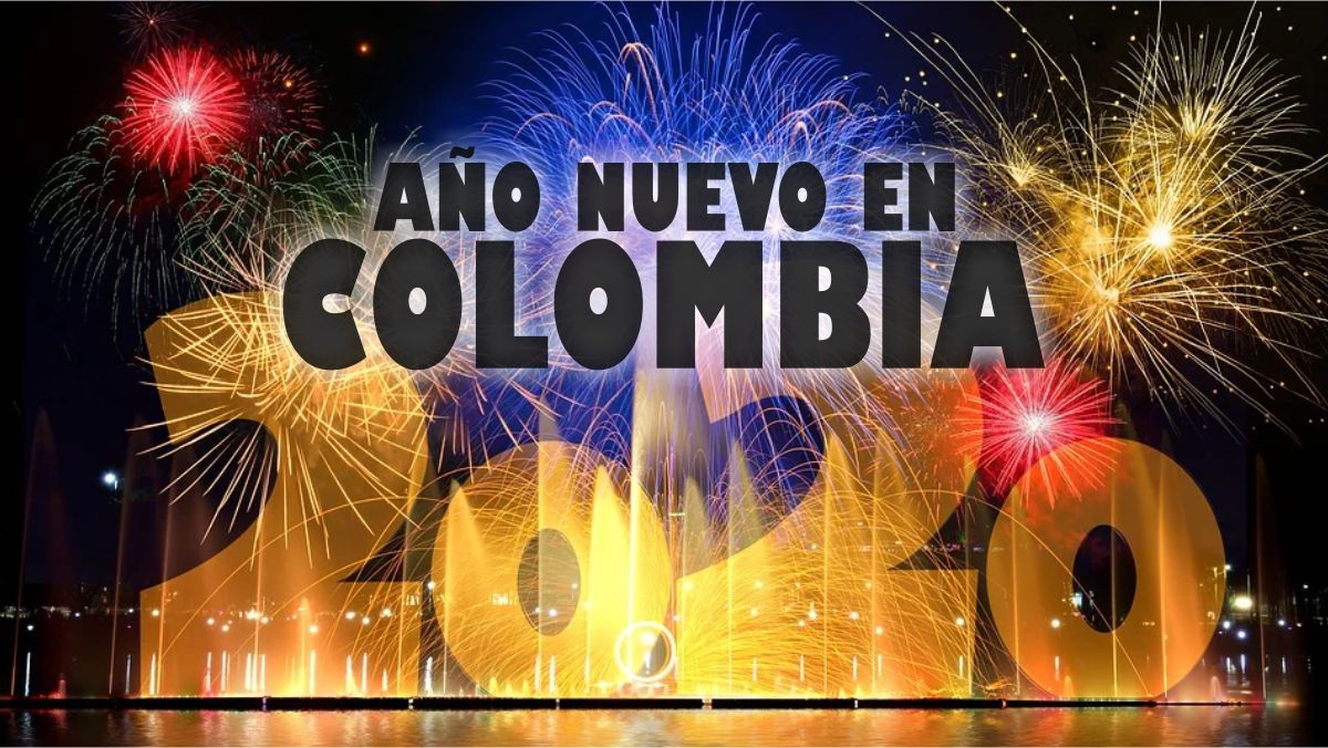 celebrar año nuevo en Colombia
