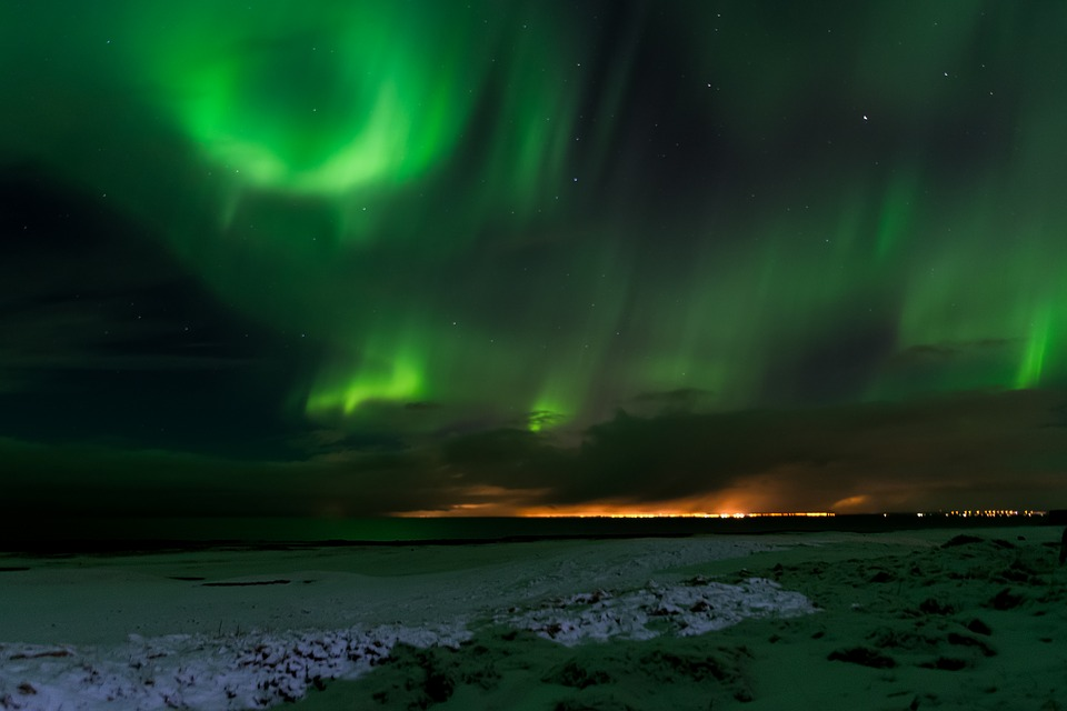 Aurora Boreal – Islandia. Maravillas naturales del mundo