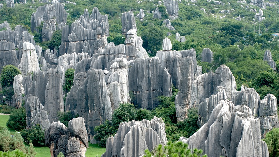 Bosque de Piedra – China. Maravillas naturales del mundo