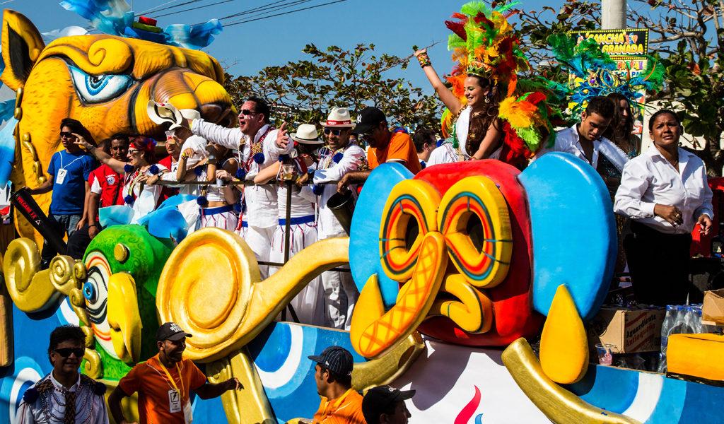carnaval de barranquilla. fiestas en el mundo