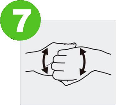 blog lavarse las manos para prevenir el covid-19 expotur. Cierra la mano y frota el dorso de los dedos con la palma de la otra mano. washing hands