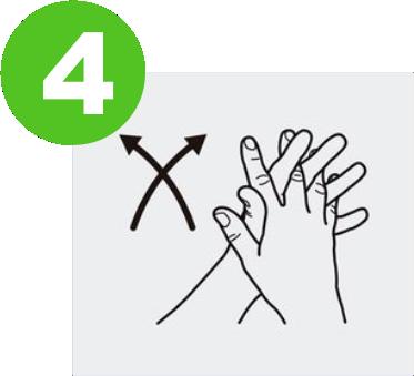 blog lavarse las manos para prevenir el covid-19 expotur. Entrelaza las manos. washing hands