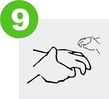 blog lavarse las manos para prevenir el covid-19 expotur. Frota las muñecas. washing hands