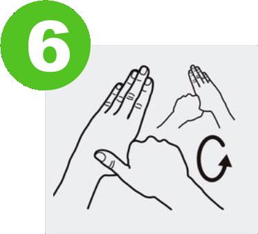 blog lavarse las manos para prevenir el covid-19 expotur. Frota los pulgares y los demás dedos. washing hands