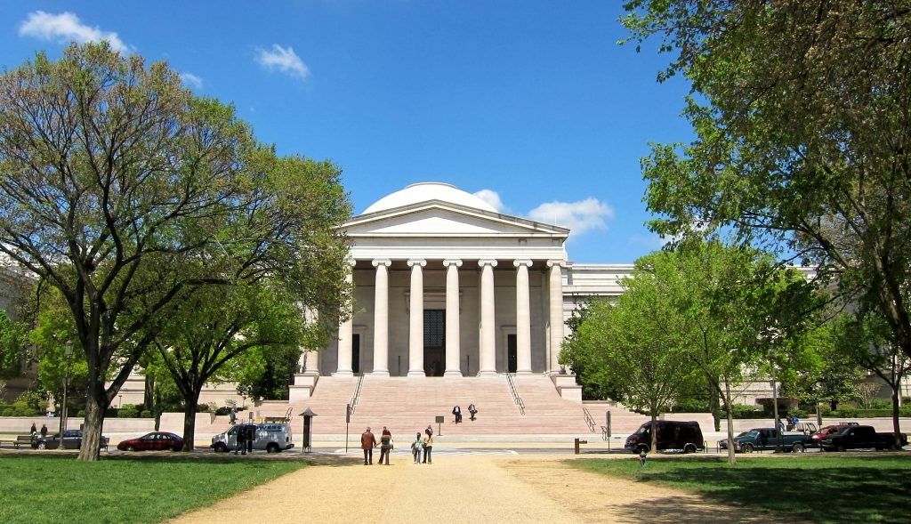 galeria nacional de arte. museos online