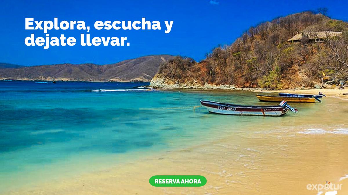playa-cristal-parque-tayrona-sierra-nevada-santa-marta-colombia-expotur