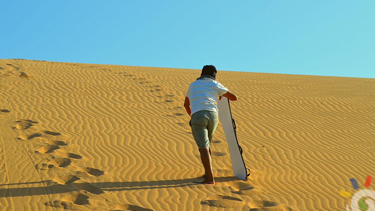 Dunas de Taroa. Desierto de la Guajira. El lugar perfecto para hacer Sandboarding en Colombia. Taroa Dunes Expotur
