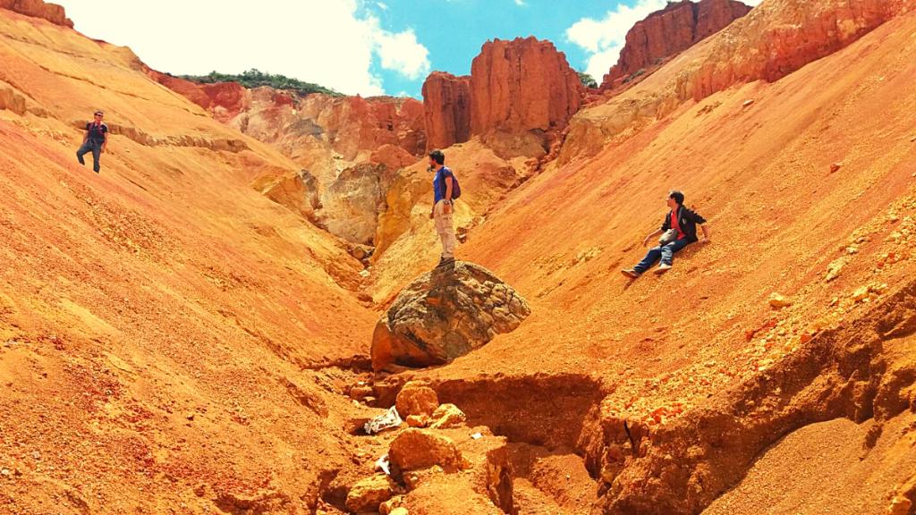 Desierto de Mondoñedo o de Sabrinsky. Lugares para hacer Sandboarding en Colombia