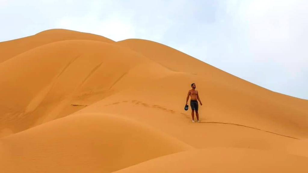Dunas de Taroa la Guajira. Lugares para hacer Sandboarding en Colombia