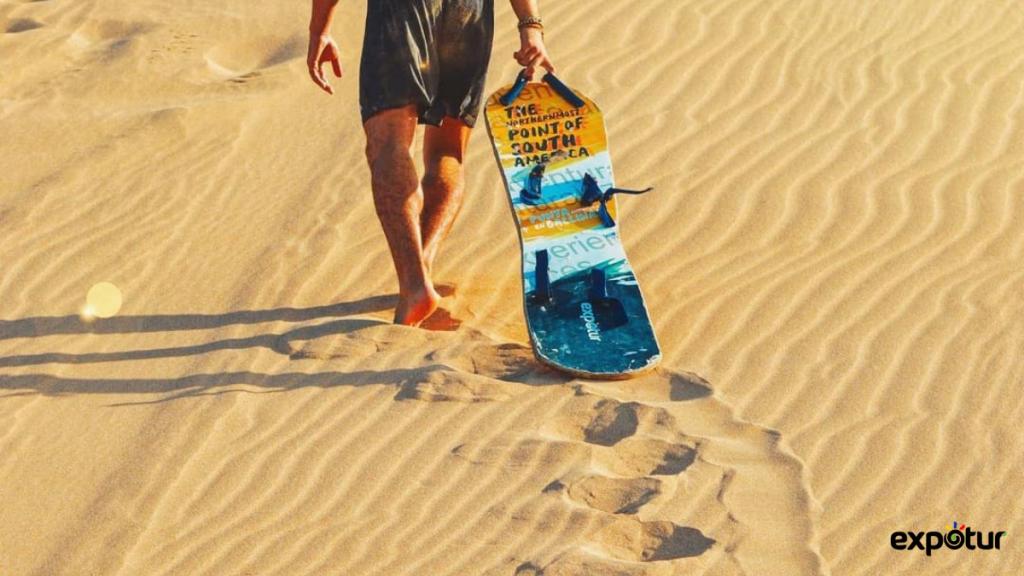 Lugares para hacer Sandboarding en Colombia