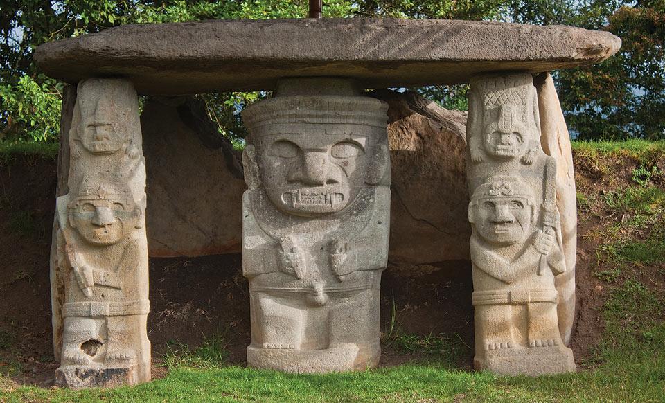 parque arqueológico san agustín e isnos