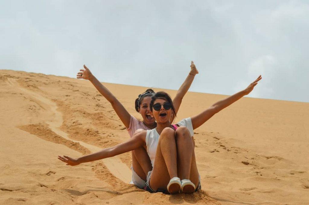 consejos para hacer sandboarding Lugares para hacer Sandboarding en Colombia