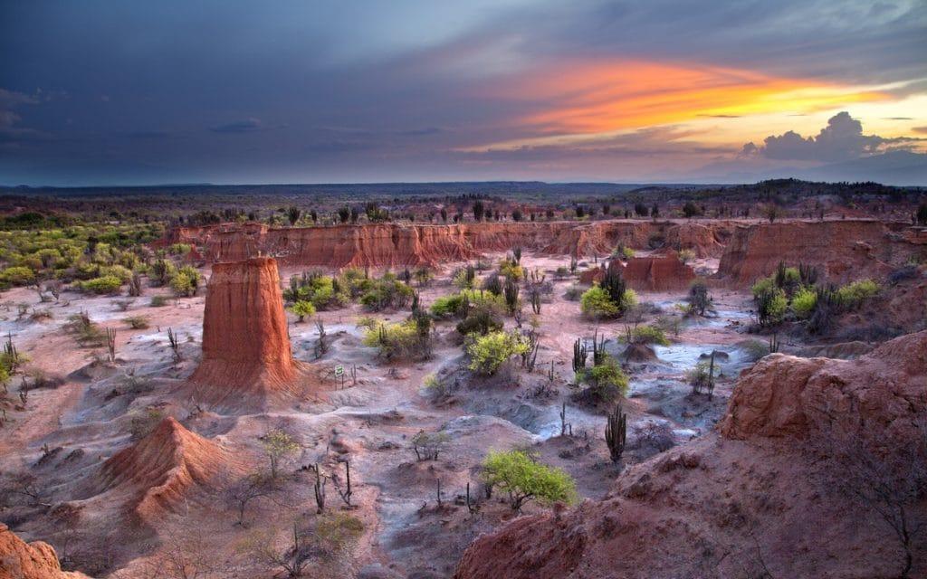 desierto de la candelaría. desiertos de colombia