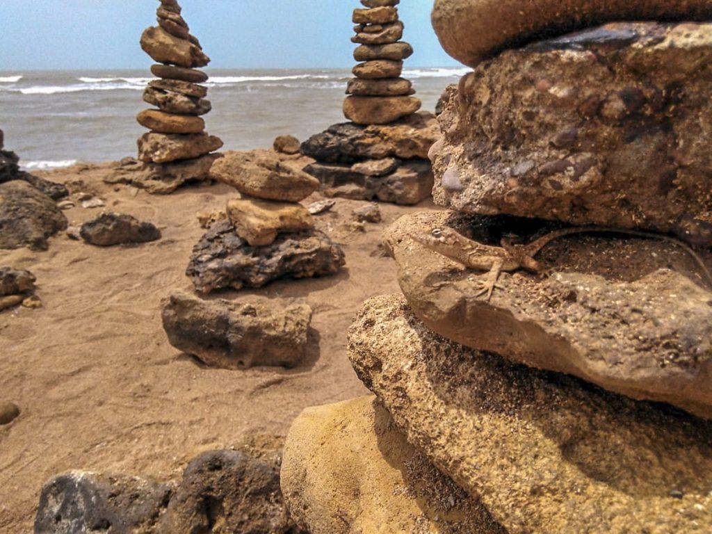Principales consecuencias de crear montículos de piedra